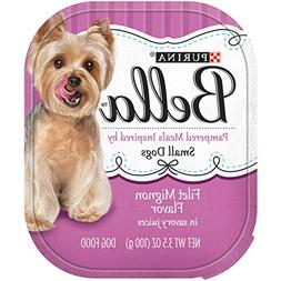 Purina Bella Pampered Meals Filet Mignon Flavor in Savory Ju