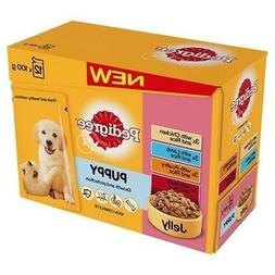 Pedigree Puppy Wet Food With Meat Selection In Jelly, 12 x 1