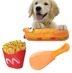 ZoyPet Pet Chew Toy Interactive Dog Food Toy Bite Sandwich 3