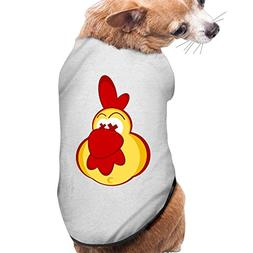 Pet Chicken Clipart With Crazy Eyes Dog/cat T-Shirt Puppy Po