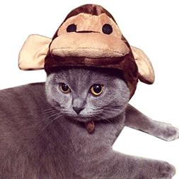 Alfie Pet by Petoga Couture - Qeno Monkey Hat for Party Hall