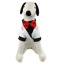 Alfie Pet by Petoga Couture - William Formal Tuxedo with Bla