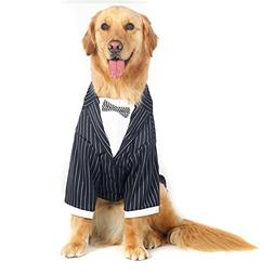Alfie Pet by Petoga Couture - Dariel Formal Tuxedo with Blac
