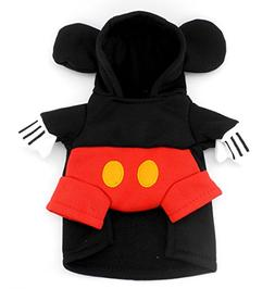 SMALLLEE_LUCKY_STORE Pet Dog Cat Mouse Costume Hoodie Party