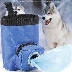 Pet Dog Puppy Bait Food Snack Waist Bag Pouch Outdoor Traini