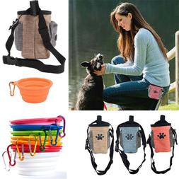 Pet Dog Training Treat Pouch Portable Puppy Carries Toys Foo