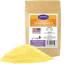 Raw Paws Pet Organic Pure Pumpkin for Dogs & Cats, Powder 4-
