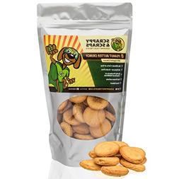 Scrappy Pet Treats for Dogs | 10 oz Peanut Butter Crunch Dog