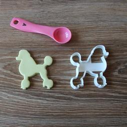 Poodle Cookie Cutter Dog Pup Pet Treat puppy Pupcake topper
