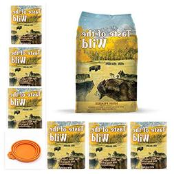 Taste of the Wild High Prairie Variety Pack Dog Food Combo,