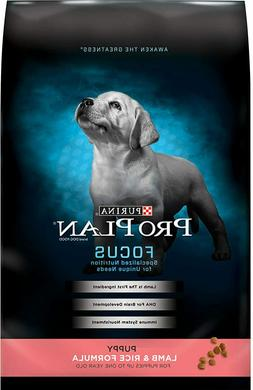 Purina Pro Plan Dry Puppy Food, All breed size, Lamb & Rice,