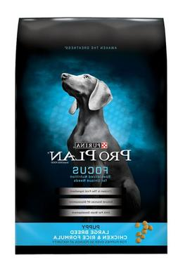 Purina Pro Plan Focus Large Breed Puppy Food - Chicken & Ric