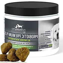 Probiotics for Dogs with Natural Digestive Enzymes ● Dog P