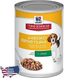 Hill's Science Diet Puppy Chicken & Barley Entrée Canned Do