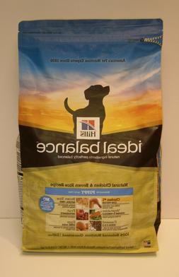 Hill's Ideal Balance Puppy Natural Chicken & Brown Rice Reci