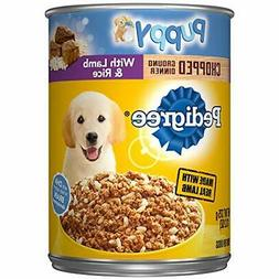 Pedigree Puppy Chopped Ground Dinner With Lamb & Rice Ad