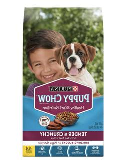 puppy chow tender and crunchy 4 4lb