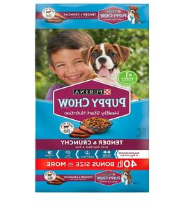 Purina Puppy Chow Tender & Crunchy Dry Dog Food