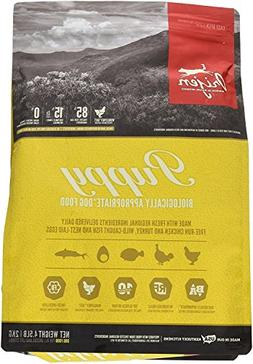 Orijen Puppy Dry Dog Food 4.5 Pound Bag, Grain Free Dog Food