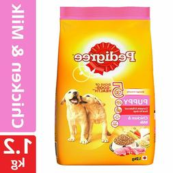 Pedigree Puppy Dry Dog Food Food, Chicken & Milk, 1.2 kg Pac