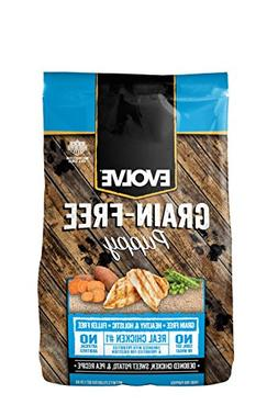 Evolve Puppy Grain Free Deboned Chicken, Sweet Potato, and P
