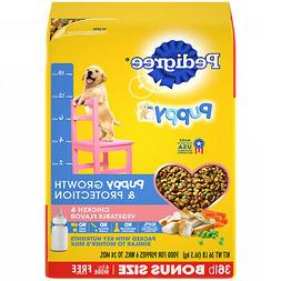 Pedigree Puppy Growth & Protection Dry Dog Food Chicken & Ve