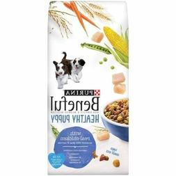Purina Beneful Healthy Puppy Dog Food 6.3 lb. Bag with Real