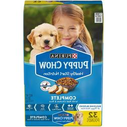 Purina Puppy Chow High Protein Dry Puppy Food, Complete With