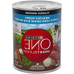 Purina ONE Canned SmartBlend Healthy Puppy Natural Classic G