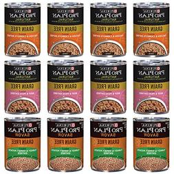 Purina Pro Plan Natural Grain Free Canned Dog Food Variety P