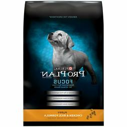 Purina Pro Plan Dry Puppy Food; FOCUS Chicken & Rice Formula