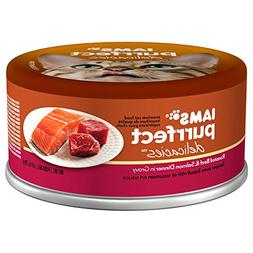 IAMS PURRFECT DELICACIES Roasted Beef and Salmon in Gravy Ca