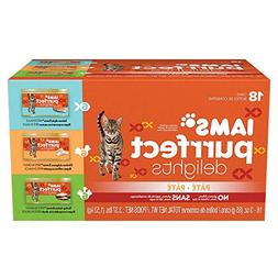 Iams Purrfect Delights Pate Adult Wet Cat Food, Variety Pack