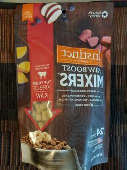Raw boost mixtures freeze-dried food