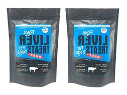 Real Beef Liver Dog Treats Made in USA - Grain, Wheat, Soy,