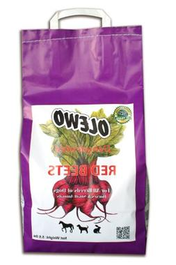 Olewo Red Beets Allergy Dog Food Supplement, controls dog sk