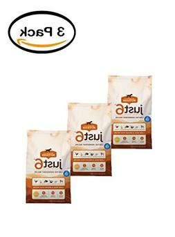 PACK OF 3 - Rachael Ray Nutrish Just 6 Natural Dry Dog Food,