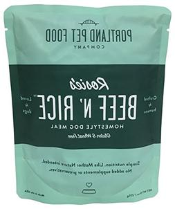 Portland Pet Food Company Rosie's Beef N' Rice All Natural D