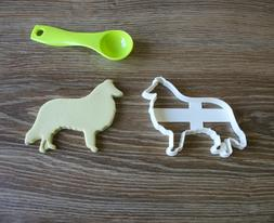Rough Collie Cookie Cutter Dog Pup Pet Treat puppy Pupcake t