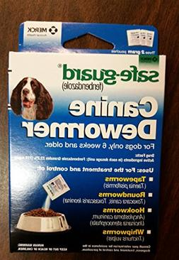 8in1 Safe-Guard Canine Dewormer - Three 2 Gram Pouches  For