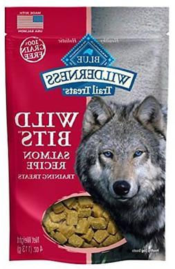 Blue Buffalo Salmon Wild Bits Trail Treats, 4 oz