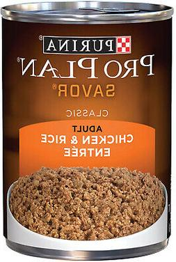 Purina Pro Plan Savor Classic Chicken and Rice Entree Adult
