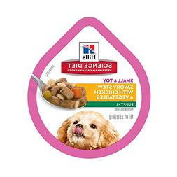 Hill's Science Diet Savory Stew with Chicken Small & Toy Pup