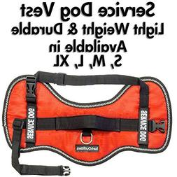 Service Dog Vest Harness - Light Weight But Durable - Availa