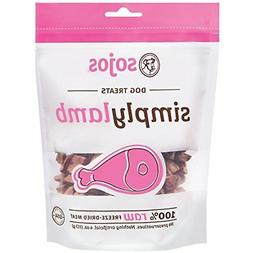 Sojos Simply Lamb 4 oz Dog Treats