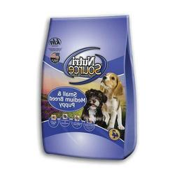 NutriSource Small and Medium Breed Puppy Chicken and Rice 15