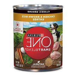 Purina ONE SmartBlend Canned Wet Dog Food, for Adult/ Senior