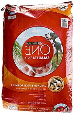Purina ONE SmartBlend Dry Dog Food, Chicken & Rice Formula -
