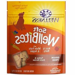 Wellness Soft WellBites Natural Grain Free Dog Treats, 6-Oun