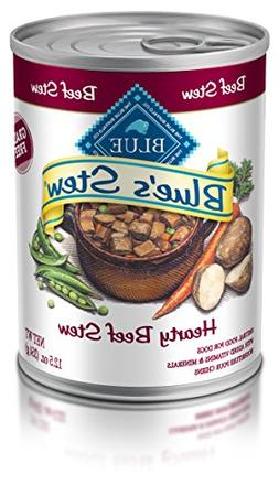 Blue Buffalo Blues Stew Hearty Beef Stew For Adult Dogs 12.5